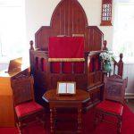 The Chapel pulpit