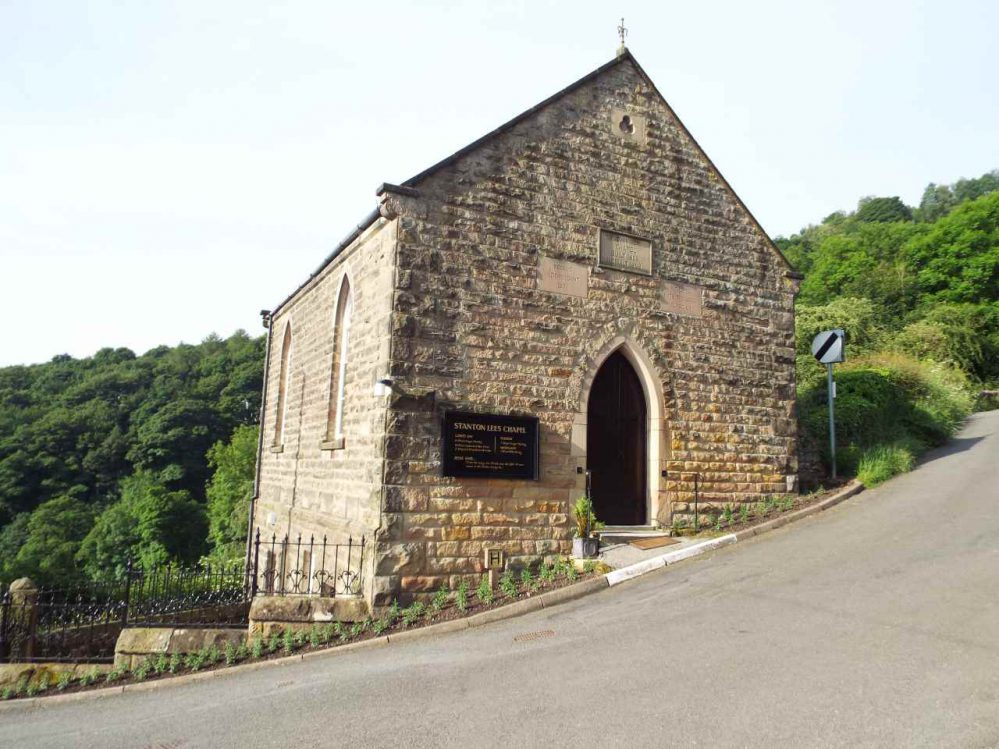 Stanton Lees Chapel - The Chapel on the Hillside