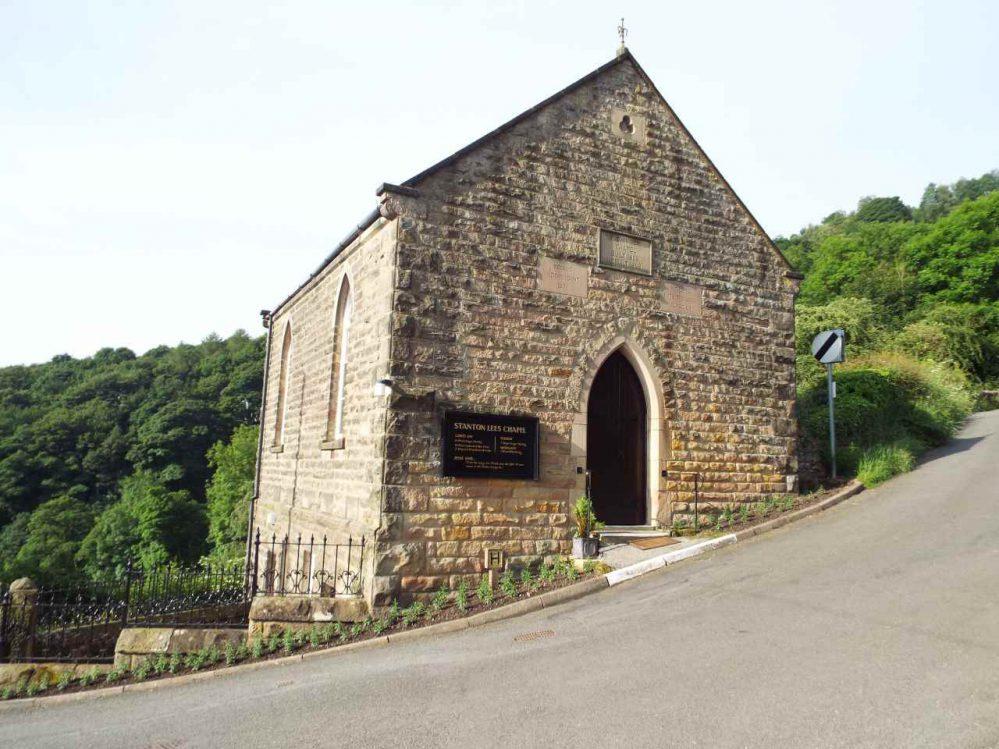 Stanton Lees Chapel - The Chapel on the Hillside